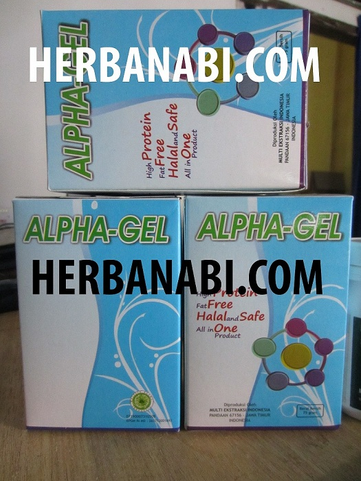 ALPHA GEL COLLAGEN MATARAM GROSIR