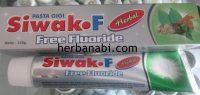 Siwak F Pasta gigi herbal Free Flouride