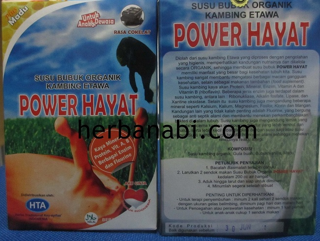 susu kambing power hayat surabaya