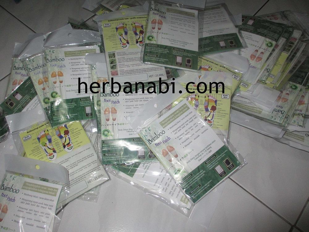 bamboo foot patch surabaya