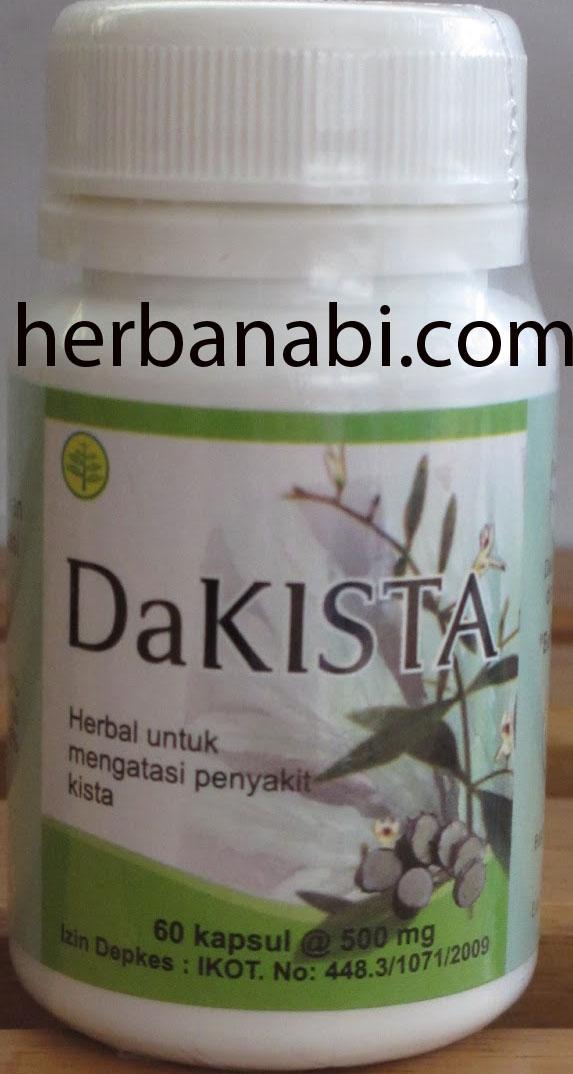 Herbal untuk Kista_dakista