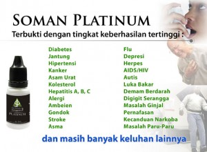 Agen Soman Platinum Surabaya