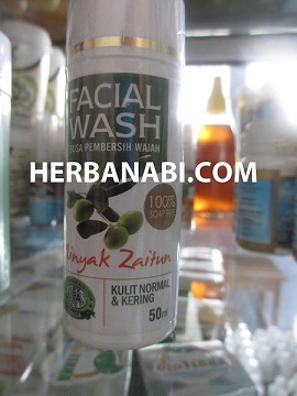 sabun muka minyak zaitun hpa - hpai