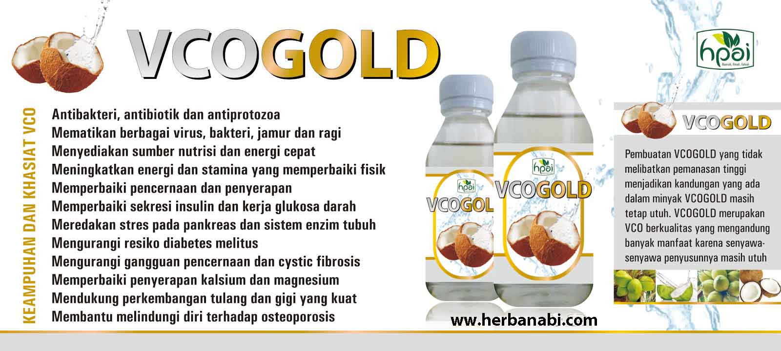 jual vco gold virgin coconut oil surabaya