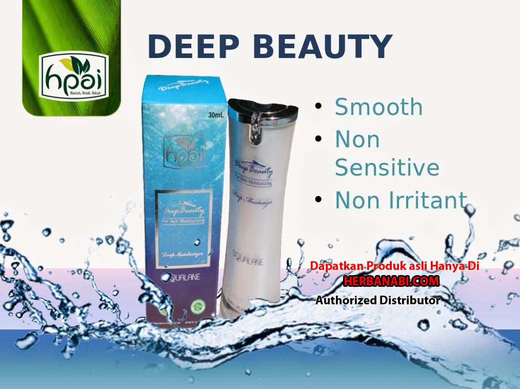 jual deep beauty SQUALANE ASLI