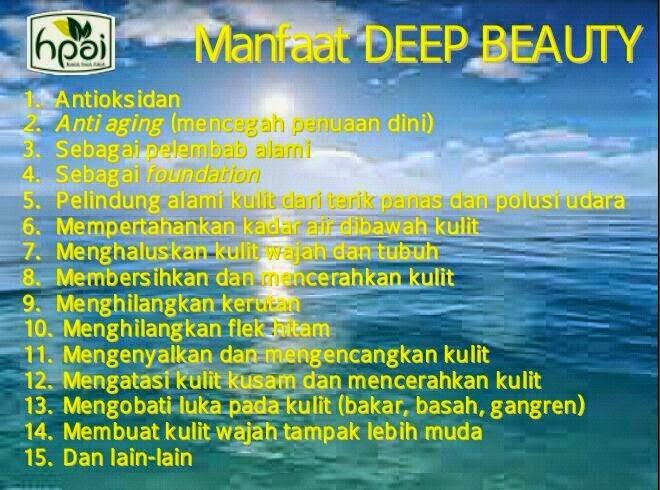 manfaat dan khasiat deep beauty hpai