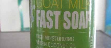 goat milk soap fast murah