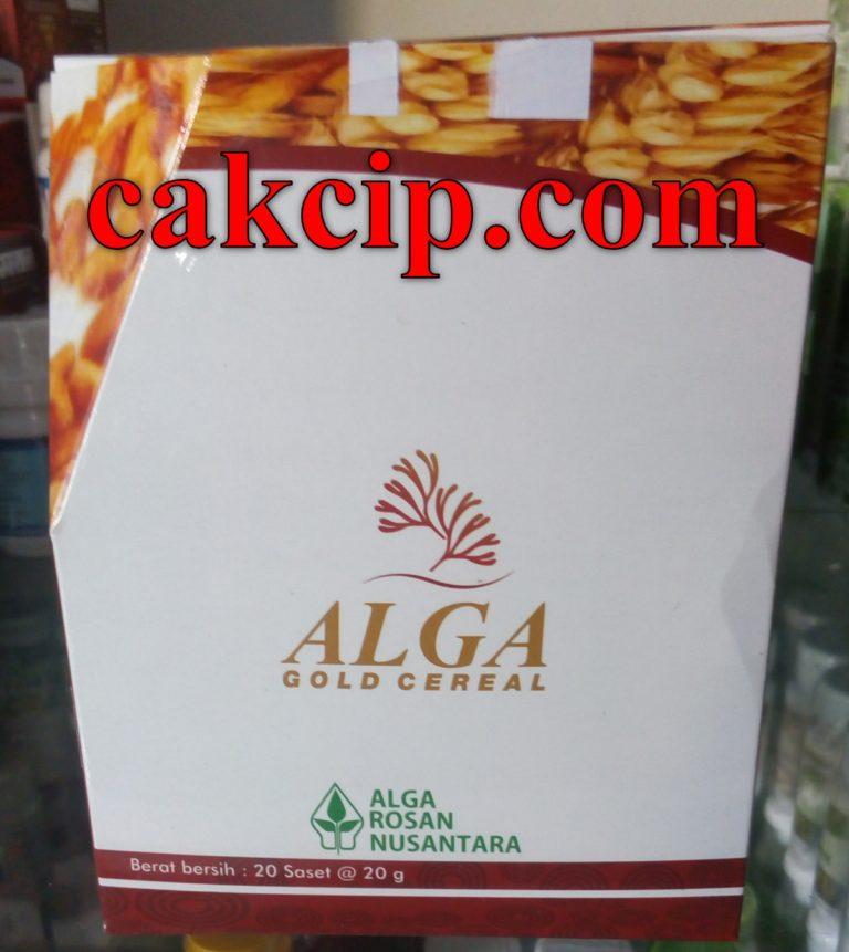 Jual Alga Gold Cereal Surabaya Sidoarjo Murah