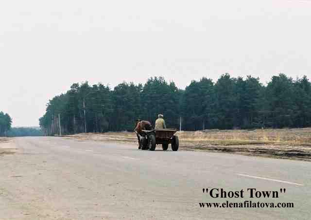 Penduduk kota hantu chernobyl ukraina