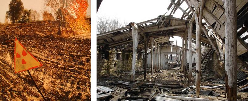akibat radiasi nuklir di chernobyl dampak bocornya reaktor nuklir chernobyl