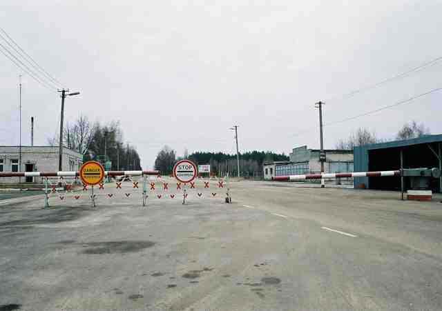 izin masuk kota nuklir chernobyl