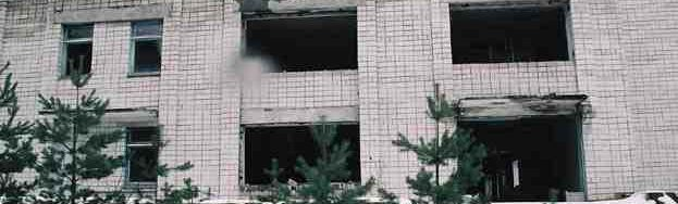 kendaraan di kota radiasi chernobyl