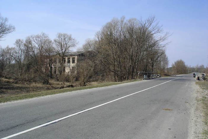 kondisi jalan di chernobyl