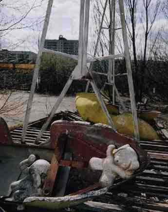 kota chernobyl tempat terjadi bencana nuklir