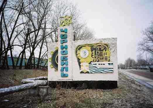 kota nuklir chernobyl