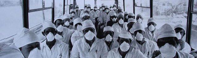 petugas kebersihan pembangkit chernobyl