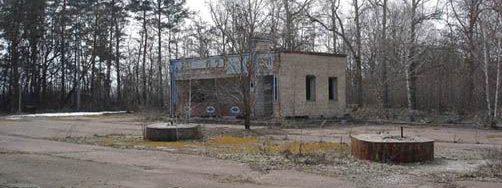 pom bensin di chernobyl