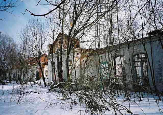 radiasi perkampungan di chernobyl