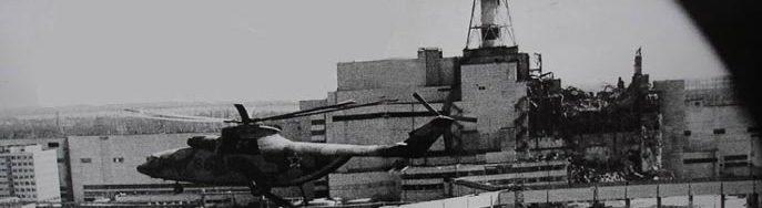 reruntuhan reaktor 4 chernobyl