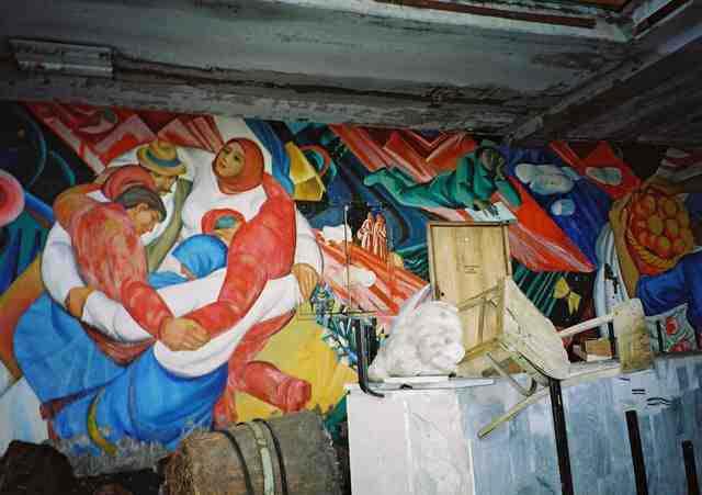 taman bermain chernobil pripyat