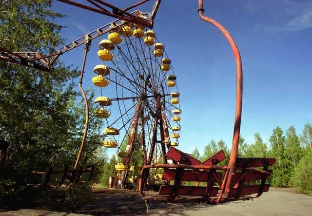 tragedi chernobyl di ukraine pada 1986