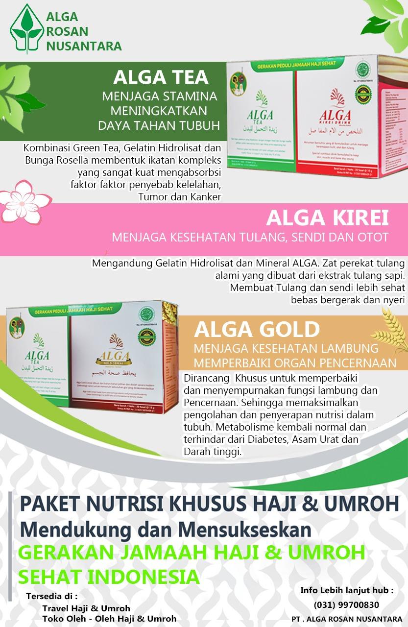 Agat Akat Paket Alga Gold dan Alga Tea